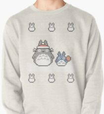 Santa-Totoro Christmas Sweater Pullover