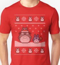 Santa-Totoro Christmas Sweater T-Shirt