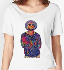 Abstract Schoolboy Q Relaxed Fit T-Shirt