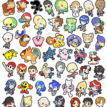 Super Smash Bros. All 58 Characters! Choose Your Fighter!! by SSBFighters