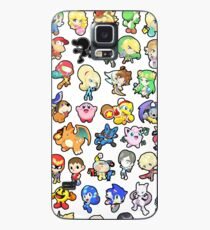 Super Smash Bros. All 58 Characters!! Case/Skin for Samsung Galaxy