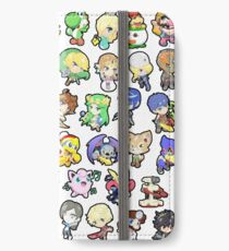 Super Smash Bros. All 58 Characters!! iPhone Wallet/Case/Skin
