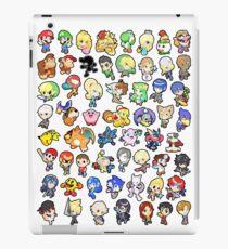 Vinilo o funda para iPad Super Smash Bros. ¡Los 58 personajes!