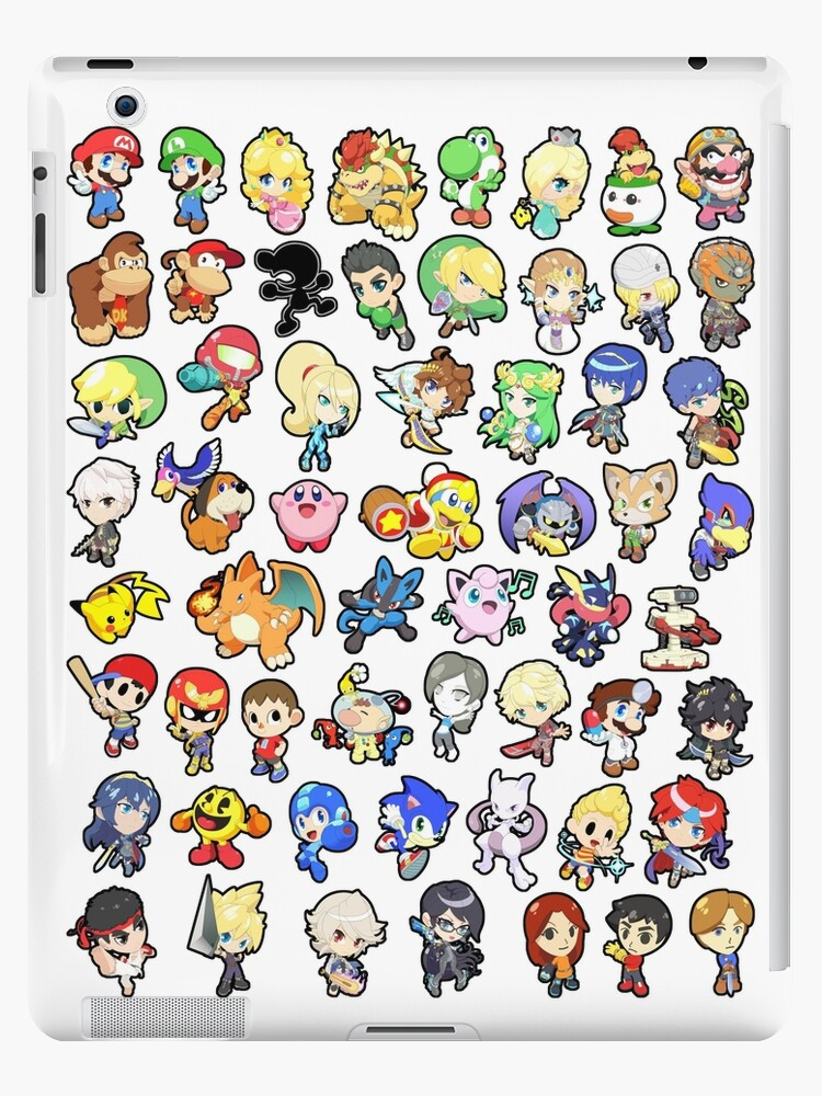 Super Smash Bros. All 58 Characters!! by SSBFighters