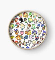 Super Smash Bros. All 58 Characters!! Clock