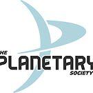 """""""The Planetary Society"""" - blue """"P"""" by Planetary Society"""