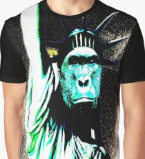 harambe statue of liberty mash up Graphic T-Shirt