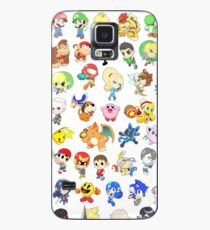 Super Smash Bros. All 58 Characters!  Case/Skin for Samsung Galaxy
