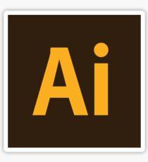 Adobe Illustrator Icon Sticker