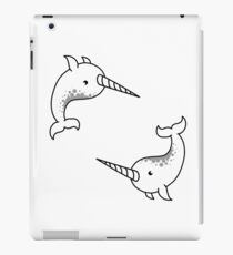Majestic Narwhal Whales   iPad Case/Skin
