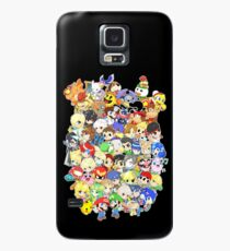 Super Smash Bros. All 58 Characters! Group Case/Skin for Samsung Galaxy