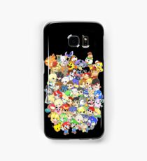 Super Smash Bros. All 58 Characters! Group Samsung Galaxy Case/Skin
