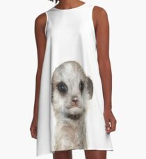 Little Meerkat A-Line Dress
