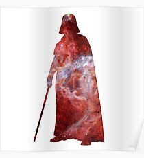 Darth Vader Galaxy Poster