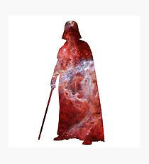 Darth Vader Galaxy Photographic Print