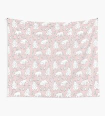 Pinky ice Wall Tapestry