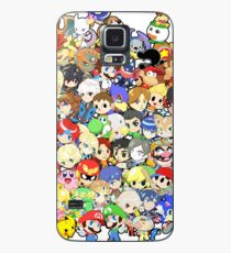 Super Smash Bros. All 58 Characters!! Group Case/Skin for Samsung Galaxy