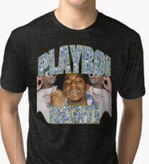 Playboi Carti Vintage Hip-Hop  Tri-blend T-Shirt
