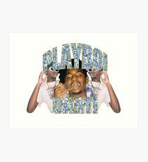 Lámina artística Playboi Carti Vintage Hip-Hop