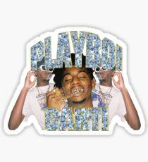 Playboi Carti Vintage Hip-Hop  Sticker