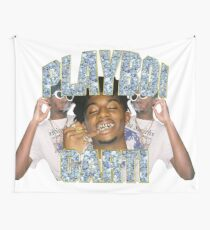 Playboi Carti Vintage Hip-Hop  Wall Tapestry