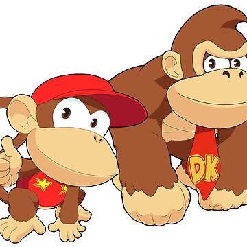 Super Smash Bros. Donkey Kong and Diddy Kong by SSBFighters