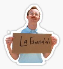 Kip from Napolean Dynamite Sticker