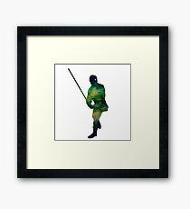 Luke Skywalker Galaxy Framed Print