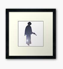 Princess Leia Galaxy Framed Print