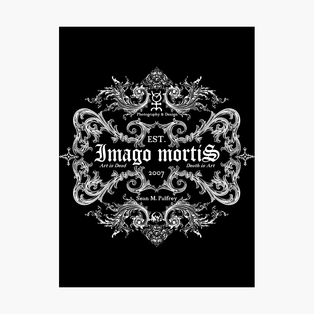 Imago Mortis Logo Photographic Print