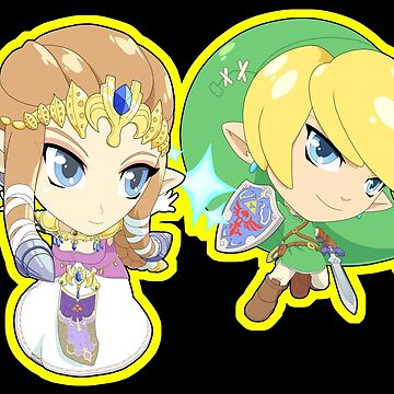 Super Smash Bros. Zelda and Link! by SSBFighters
