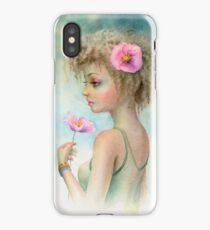 Pink Poppy by Scot Howden iPhone Case/Skin