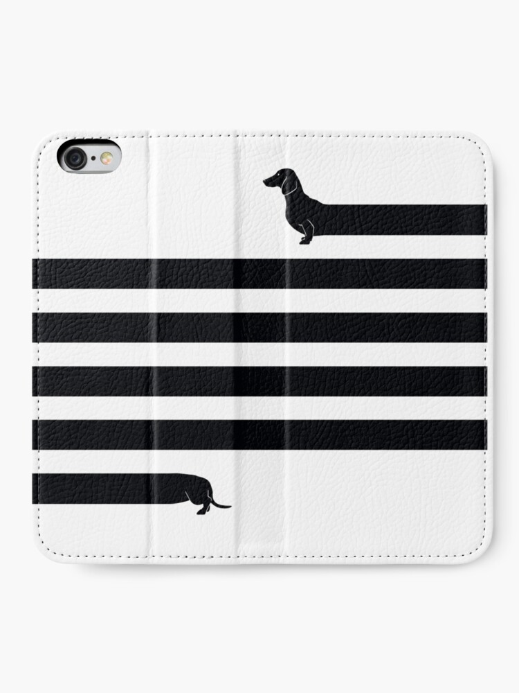 Alternate view of (Very) Long Dog iPhone Wallet