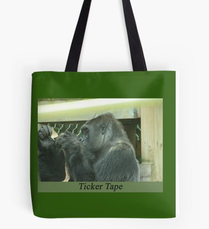 Ticker Tape Tote Bag