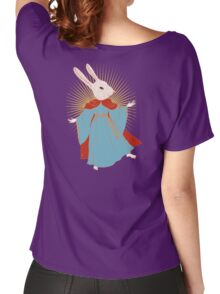 Saint Bunny has your back Women's Relaxed Fit T-Shirt
