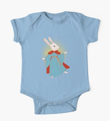 Saint Bunny has your back Kids Clothes
