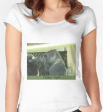 Ticker Tape Women's Fitted Scoop T-Shirt
