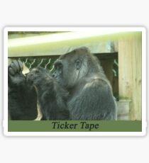 Ticker Tape Sticker