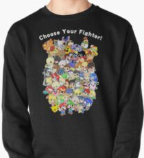 Super Smash Bros. All 58 Characters! Choose Your Fighter! Group Pullover