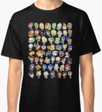 Super Smash Bros. All 58 Characters!  Classic T-Shirt