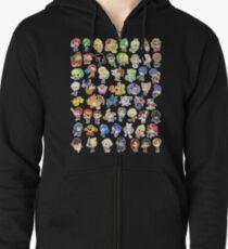 Super Smash Bros. Alle 58 Charaktere! Kapuzenjacke
