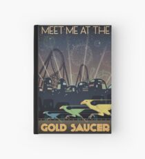 Final Fantasy VII Gold Saucer Travel Poster Hardcover Journal