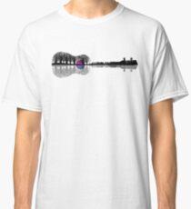 Großartige und wunderschöne Musiker Gitarren Ukulele Design Grafik Classic T-Shirt