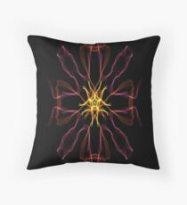 Silken 8 Throw Pillow