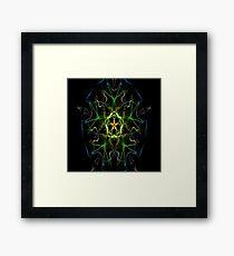 Silken 9 Framed Print