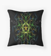 Silken 9 Throw Pillow