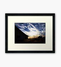 Abandon Sky Framed Print
