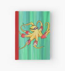 Awkward Octopus Hardcover Journal