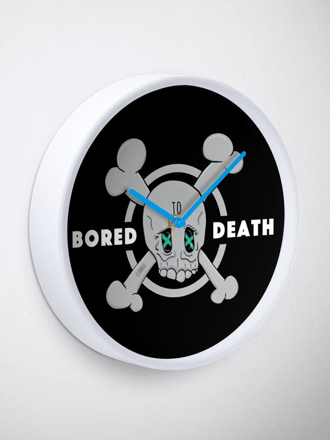 Alternate view of Bored to Death Clock
