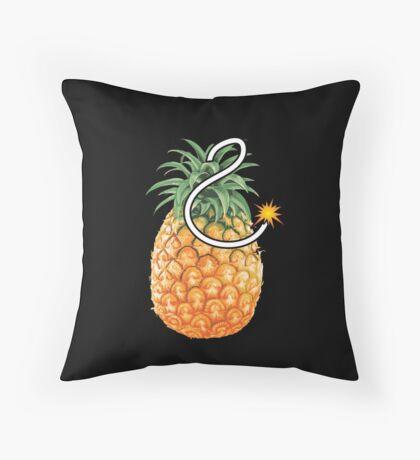 Pineapple Bomb Throw Pillow